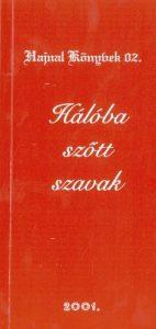 Verseskötet borító